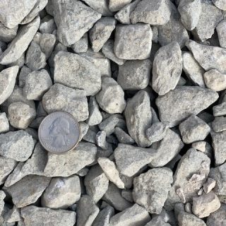 "3/4"" Crushed River Rock"