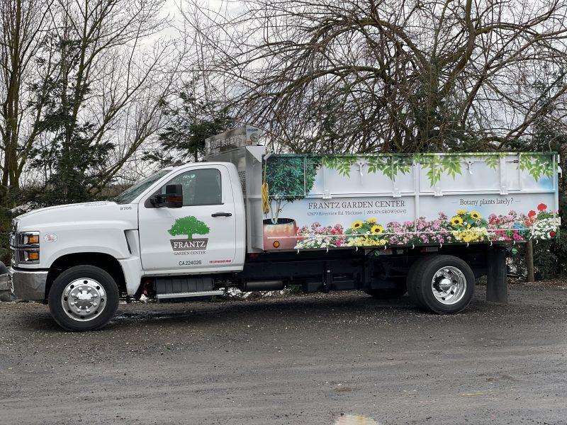Frantz Garden Center Bulk Delivery Truck